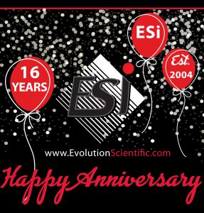 Happy Anniversary ESi - 16 Years